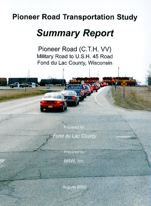Pioneer Rd Transporation Report Cover Page