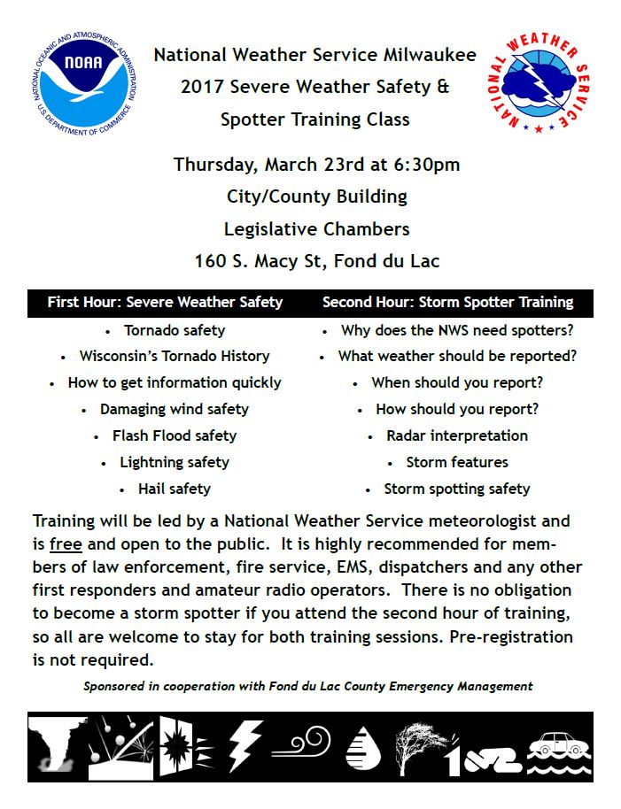 2017 Weather Spotting Class