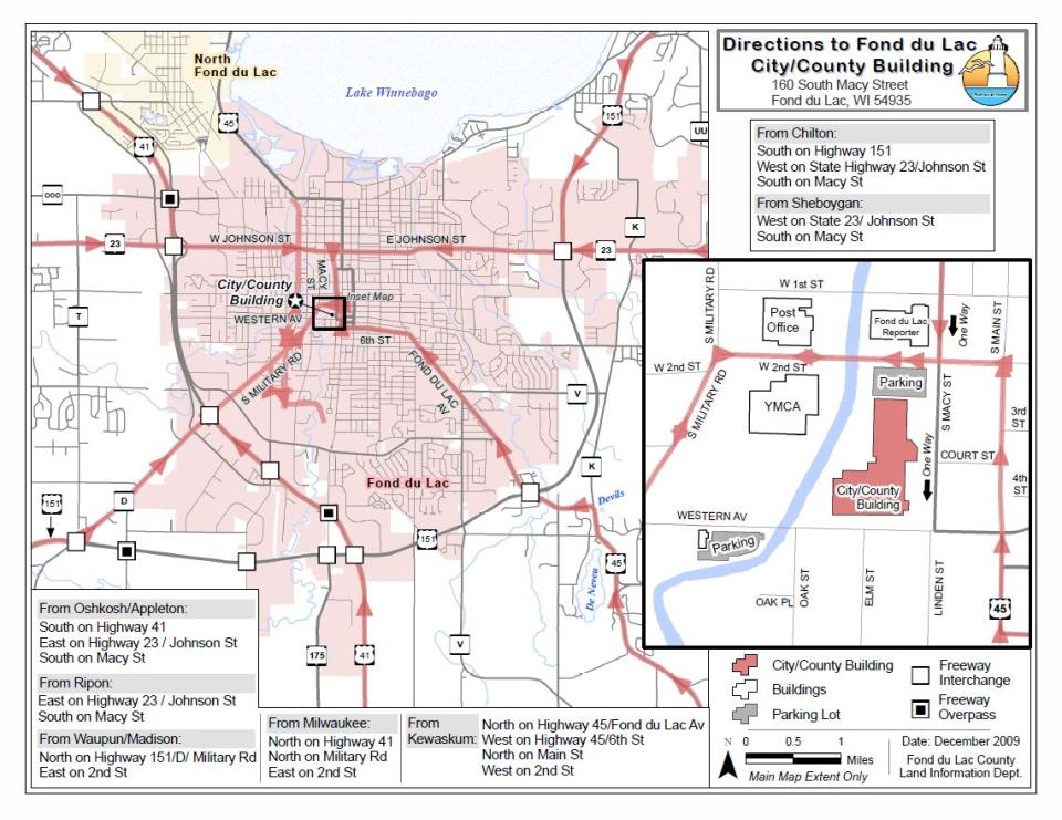 Map Gallery Fond Du Lac County