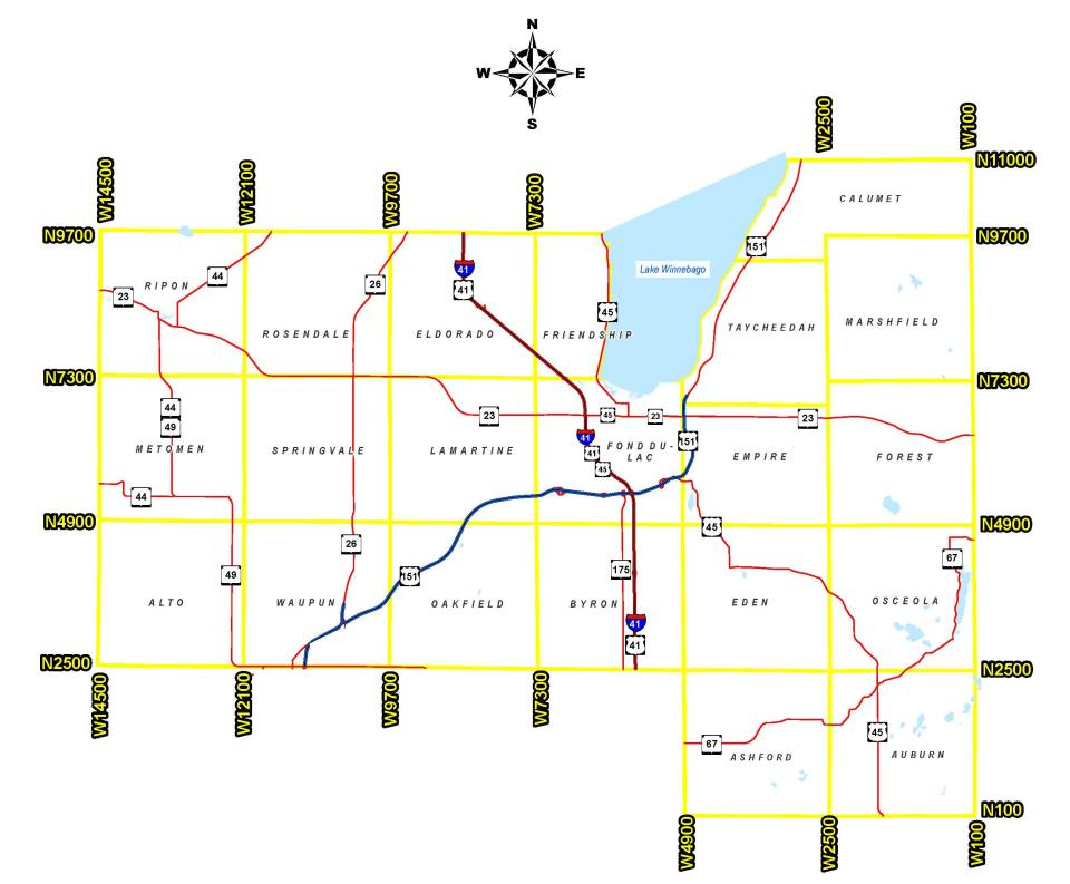 Rural Address Numbering System | Fond du Lac County