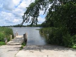 Wolf Lake Boat